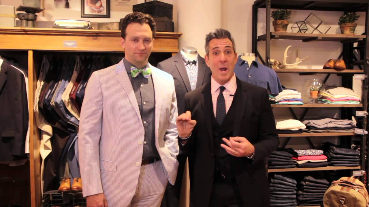 Top Men's Suits For A Summer, Outdoor Wedding : Wedding