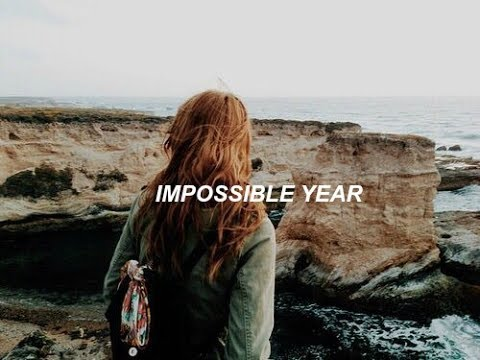 panic! at the disco ;; impossible year [lyric video]