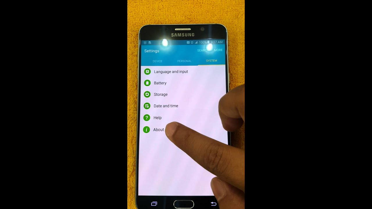 Auto rotate not working samsung galaxy s6 edge plus 18