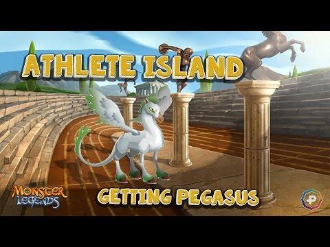 Monster Legends - Athlete Island Getting Pegasus