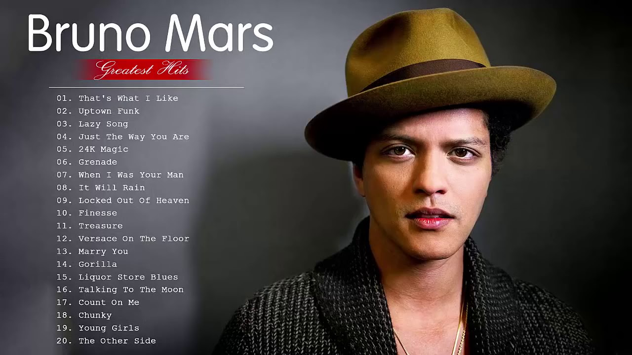 รวม เพลง bruno mars