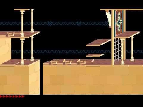 Prince of Persia 1 - Original (Jordan Mechner,1990) - Level 11