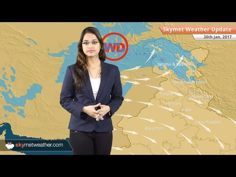 Weather Forecast for Jan 30: Snow in Kashmir, Himachal; Rain in Punjab, TN, Kerala