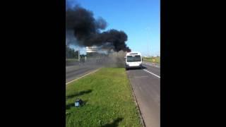 Autobus RTC 277 encore en feu!