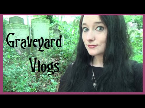 GRAVEYARD VLOGS: Tower Hamlets Cemetery Park (London E3) | Amy McLean