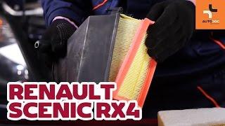 Skifte Luftfilter RENAULT SCÉNIC I (JA0/1_) - videoopplæring