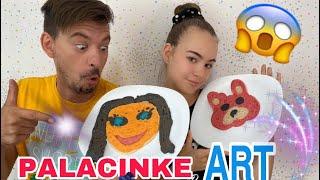 CRTAMO! VI ODLUCUJETE POBEDNIKA! PANCAKE ART CHALLENGE 2!