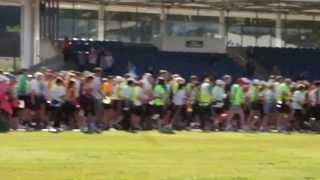 Manx Telecom Parish Walk video 10 - the start