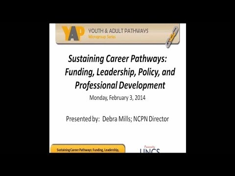 YAP Event 4 - Sustaininig Career Pathways: Funding, Leadership, Policy and Professional Development