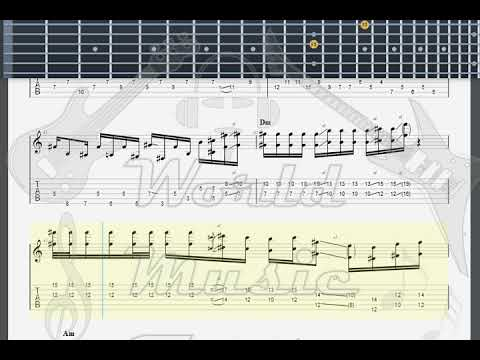 Hendrix, Jimi Villanova Junction woodstock GUITAR 2 TAB