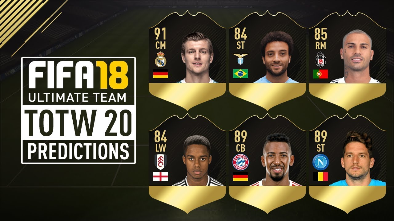 FIFA 18 TOTW 20 Prediction Ft. IF Kroos, IF Felipe ... Felipe Fifa 18