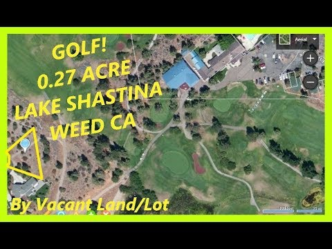 Golf - Land for sale in Weed CA - 0.27 Acre in lake Shastina, Siskiyou county, California