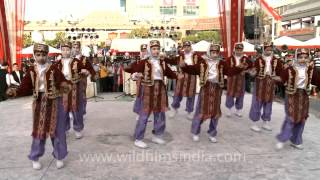 Turkish folk dance by Indian students