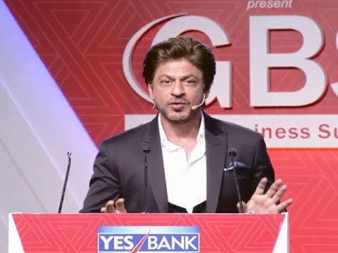Big data will aid in how we market content in cinema: Shah Rukh Khan | ET GBS 2018