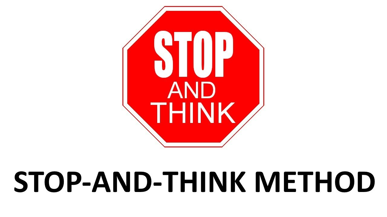 What to do when even the existence of truth is denied - stop-and-think method