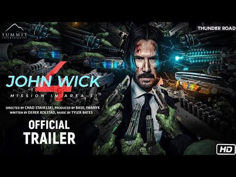 John Wick Chapter 4-Official Trailer   Concept Trailer   Keanu Reevs, Chad Stahelski