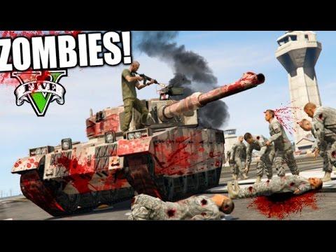TANQUE DE ZOMBIES !! GTA ZOMBIE APOCALIPSE CAP 7 !! SERIE DE ZOMBIES GTA 5 MODS PC Makiman