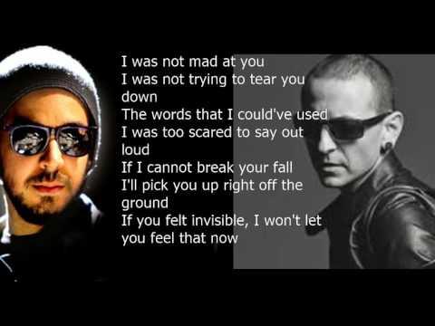Download Youtube: Linkin Park -  Invisible Lyrics {Live Version}