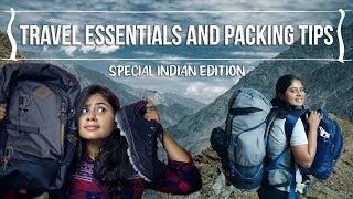 BACKPACK PACKING GUIDE | How to pack luggage for a month? | Travel Packing Tips and Essentials