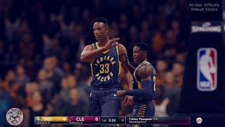 NBA Live 18: Pacers vs Cavs - 1st Quarter - Cavs New Court