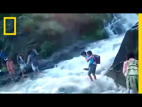 To Get To School, These Kids Must Cross a Deadly River | National Geographic