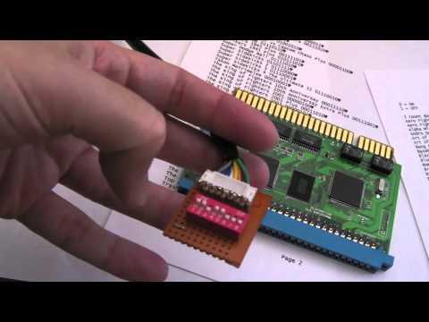 SNK Neo Geo MVS 138 in 1 Teardown & DIP Switch Mod
