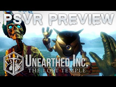 Unearthed Inc (PSVR) preview | First-person Adventure in an Ancient World