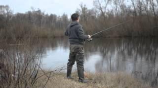 видос рыбалка беларусь , река Случь(первый поход на рыбалку в этом сезоне (12 марта 2016г), 2016-03-18T02:32:55.000Z)