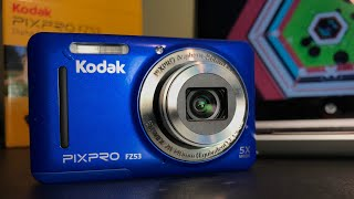 Best Christmas Tech Gift Under $100 - Kodak PixPro FZ53 Review & Unboxing