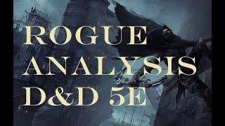 Rogue Analysis D&D 5e