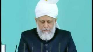Friday Sermon : 31st July 2009 - Part 2 (Urdu)