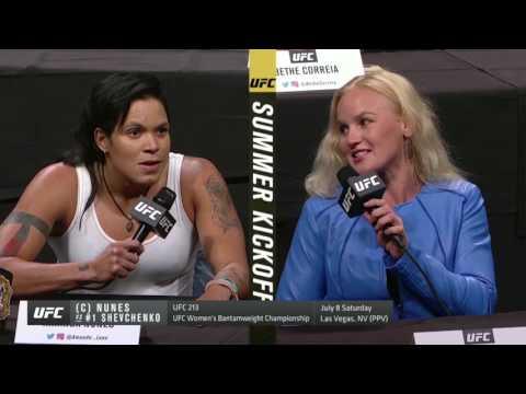 UFC Summer Kickoff Press Conference Highlights