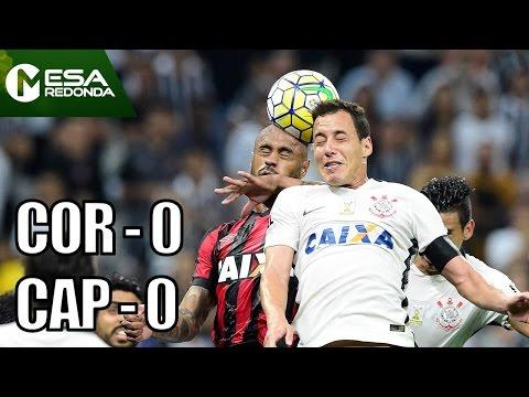 Corinthians 0 X 0 Atlético-PR - Mesa Redonda (27/11/16)