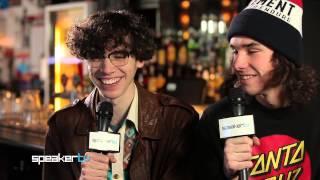 Lunatics On Pogosticks Speaker TV Interview