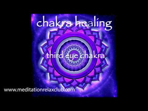 Chakra Healing & Balancing - Third Eye Chakra Ajna Meditative Healing Music
