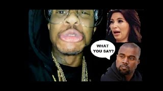 Orlando Brown Comments on KANYE WEST & DISSES Kim Kardashian