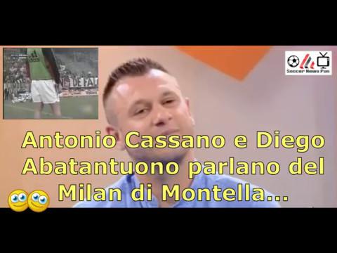 """Milan, Antonio Cassano: """"Una squadra di scappati di casa ..."""