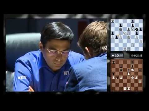 Magnus Carlsen vs Viswanathan Anand - FINAL GAME - World Chess Championship 2014