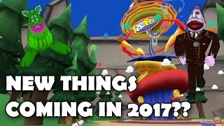 Toontown in 2017! - New Things Coming?