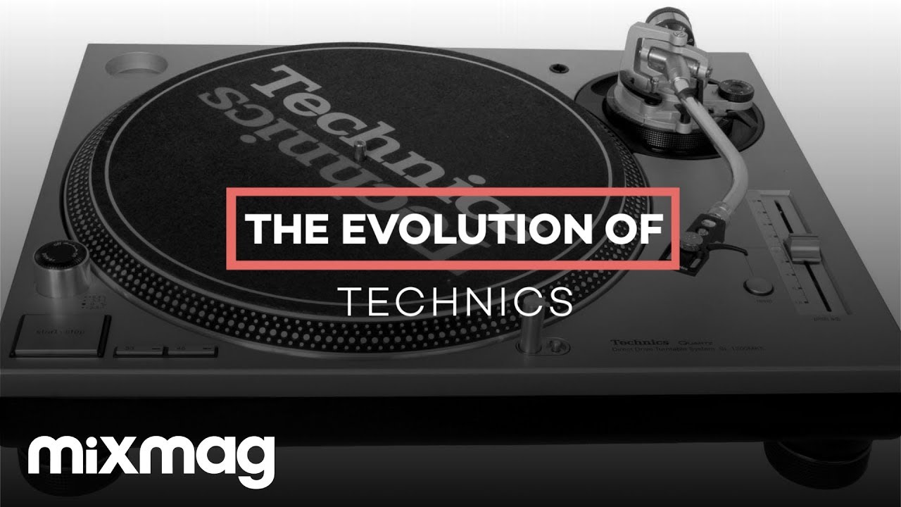 the evolution of the technics turntable youtube