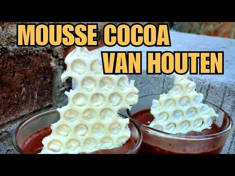 Mousse Cocoa Van Houten (resep+tutorial) - YouTube