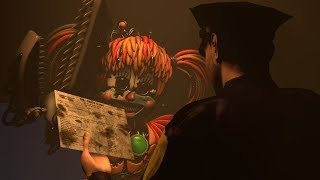 [FNAF/SFM] FNAF 6 Scrap Baby Salvage - view from animatronic