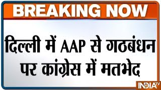 sheila dikshit opposes congress alliance with aam aadmi party