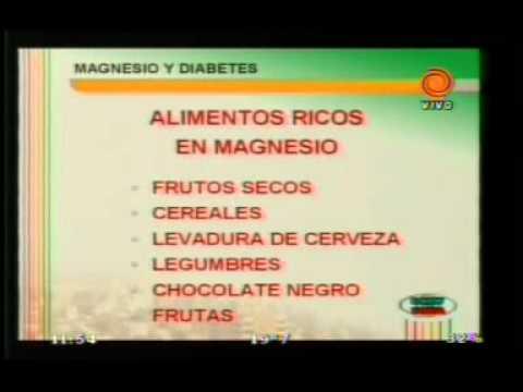 cloruro de magnesio diabetes dosis