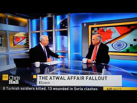 "Ward ELCOCK, former CSIS Director, on ""Jaspal Atwal affair"" _ 8:48"