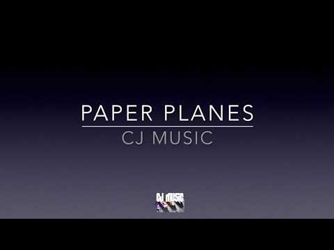 Hoseah Partsch - Paper Planes - Piano backing track / Karaoke FREE