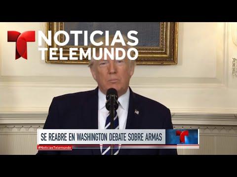 Donald Trump viajará este miércoles a Las Vegas | Noticiero | Noticias Telemundo