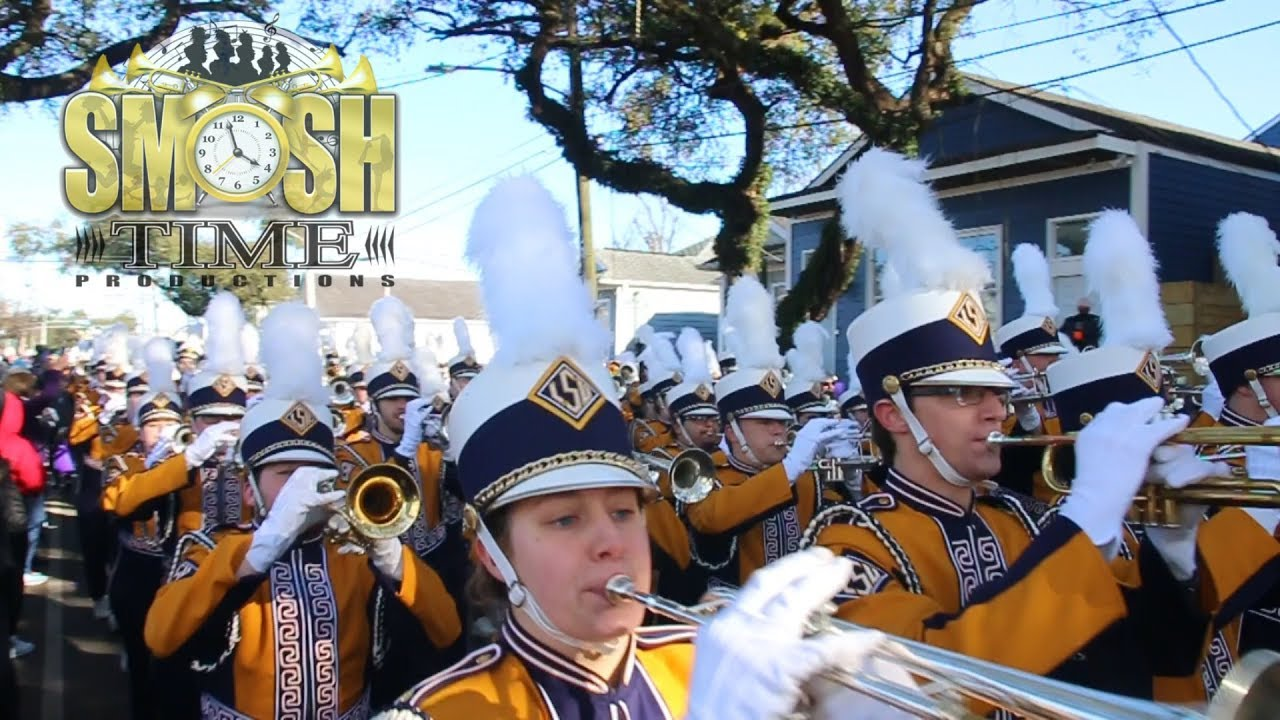 LSU Tiger Marching Band @ Zulu Parde 2019