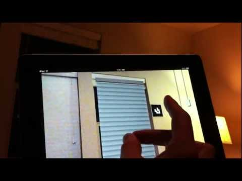 Augmented Reality Window Blinds