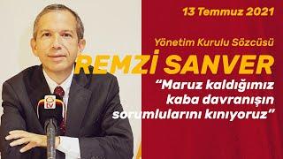 🔴 📺 Galatasaray Spor Kulübü YK Sözcüsü Remzi Sanver, YK Toplantısı sonrası açıklamalarda bulundu